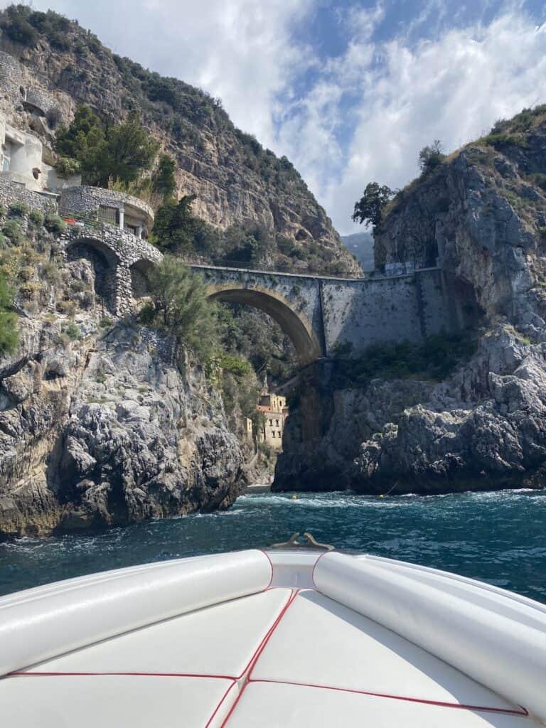 view of a bridge at Blue Star Positano