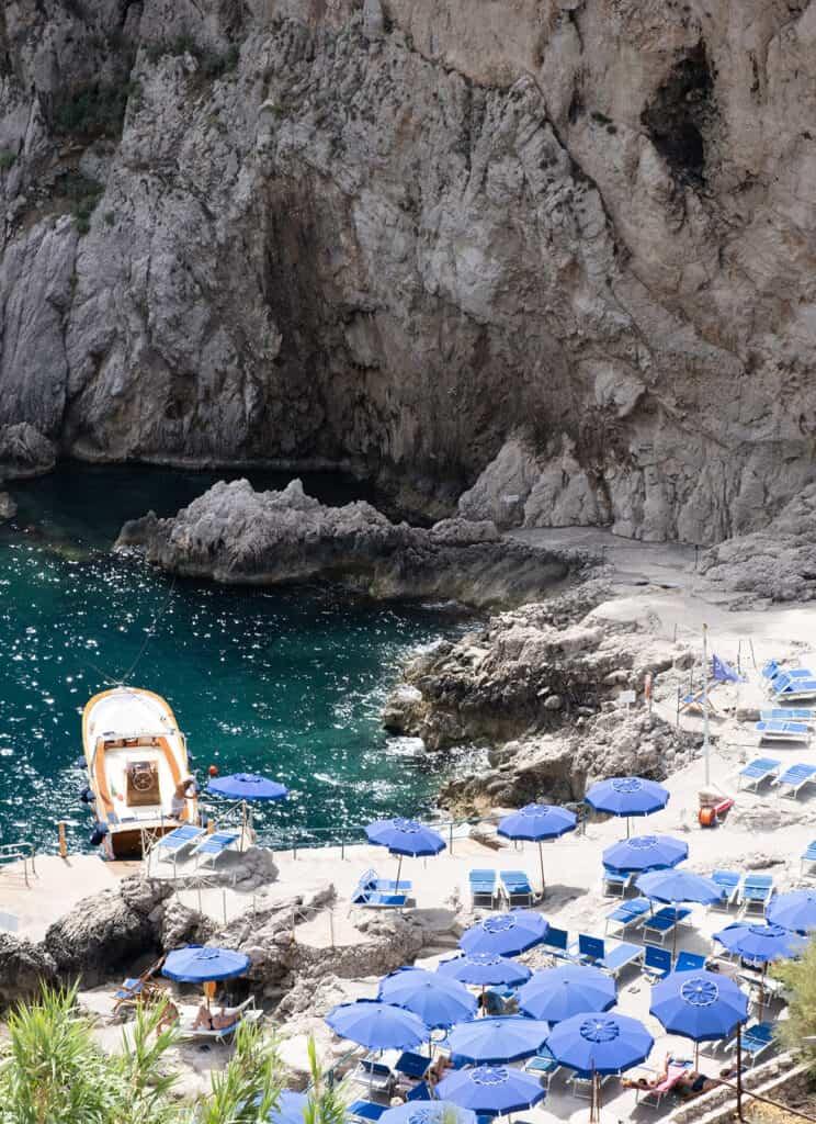 beach view for the Amalfi Coast Guide