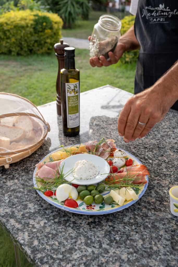 plated food for Amalfi Coast Guide