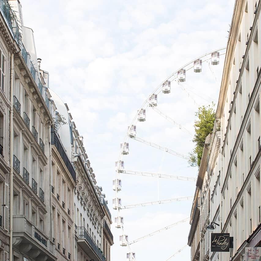 Paris Ferris Wheel Summer for Links I Love Week 32