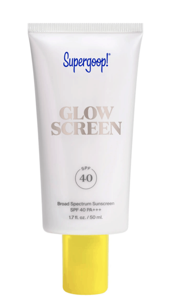 Supergoop Glow Screen for Morning Skincare Routine