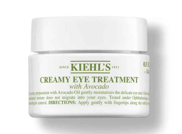 Kiehl's creamy eye treatment for Morning Skincare Routine