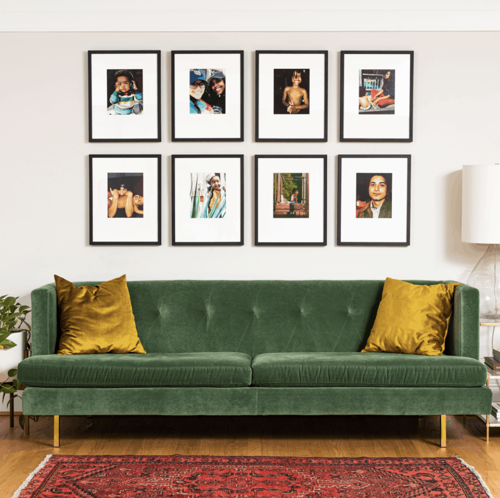 photos of people for gallery wall