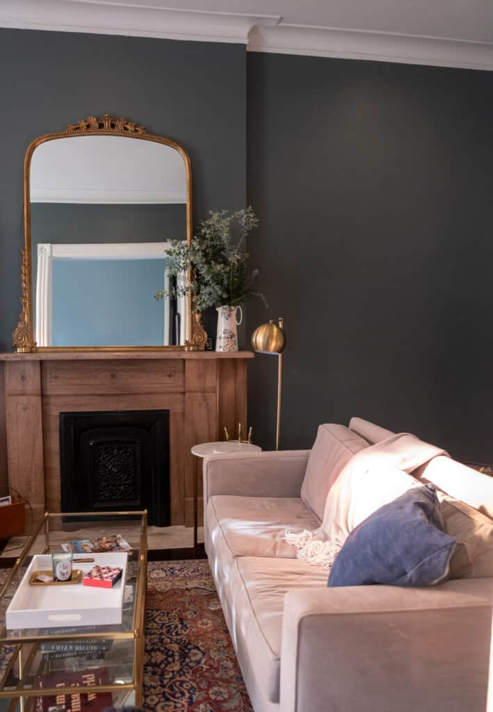 living room for transition your home for fall