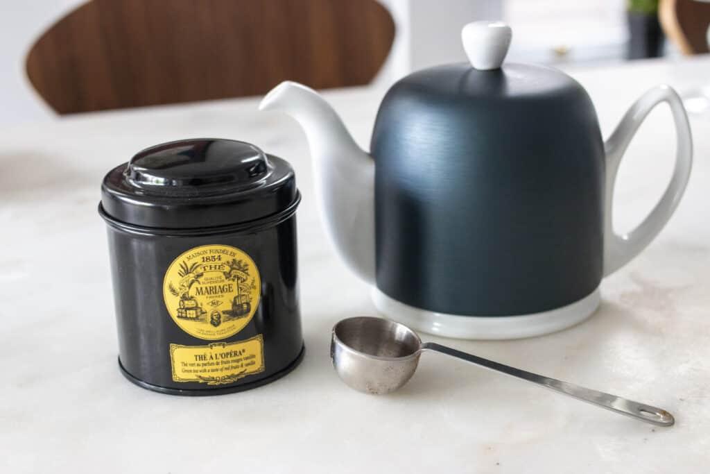 Mariage Frères tea kettle